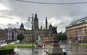 George Square, Glasgow.