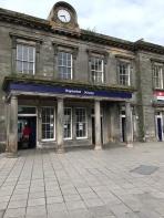 Edinburgh's Haymarket Train Station.