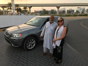 Recovery driver delivers my car to Dubai Tajheel safe, sound, and even still clean.