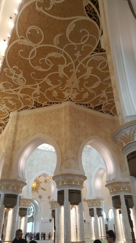 Moorish arches and intricate patterns throughout.