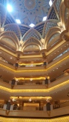The large dome at Emirates Palace (one of them!)