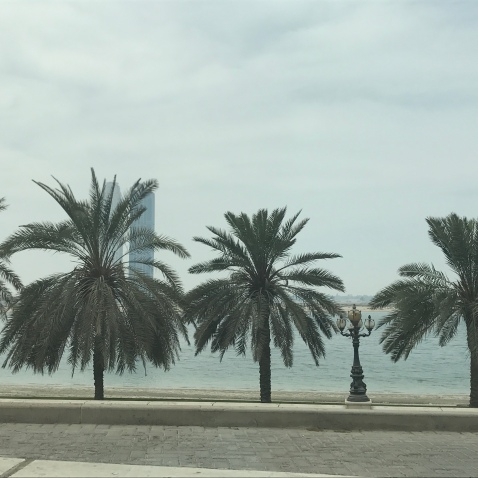 The Sharjah Corniche.