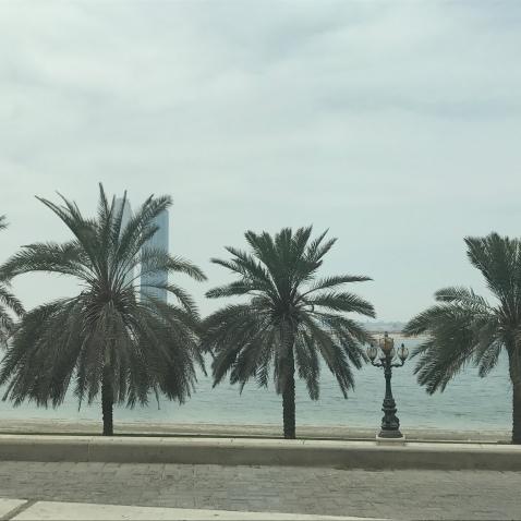 The Sharjah Corniche.