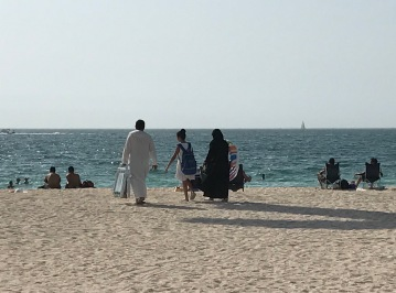 At Kite Beach Dubai