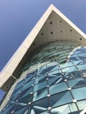 Striking architecture.