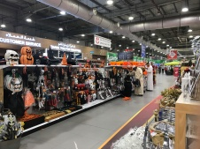 Ace Hardware at Festival City in Dubai had rows of Halloween decorations, just past the Christmas decor!
