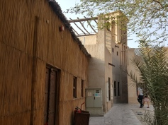 Rustic Al Fahidi in Dubai, where some of the structures date back to the 1800s.