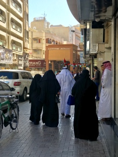 Near Dubai's Gold Souk.