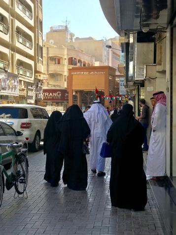 Near Dubai's Gold Souk.