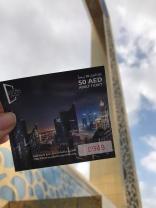 A visit to the Dubai Frame.