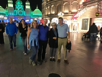 With our Atlanta friends Ann & Arthur Kennedy at Dubai's Global Village.