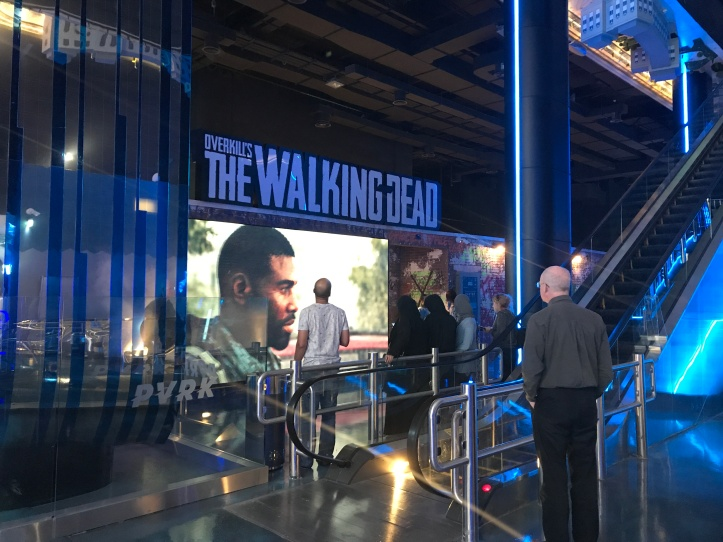 The Walking Dead experience at VR Park in Dubai Mall