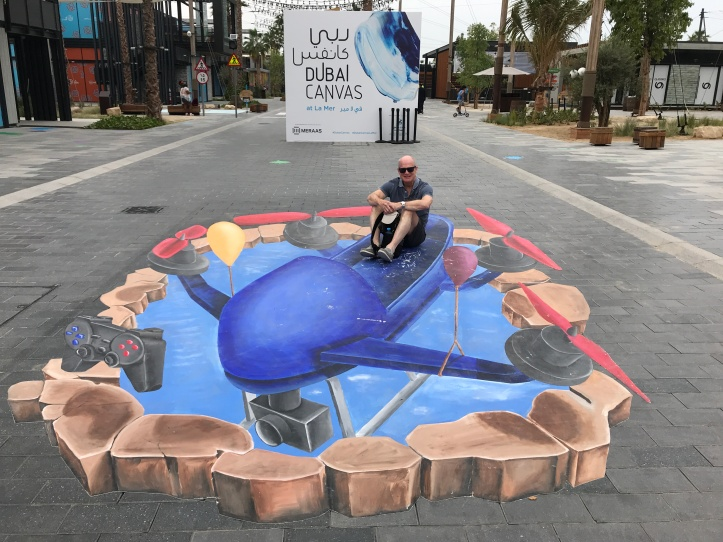 Dubai Canvas 3D Festival Drone Art