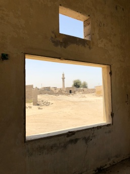"Some believe ghosts (""jinns"") live here and may have scared the occupants away, but Al Jazirat Al Hamra just feels very peaceful to us - of course, we were not there at night!"